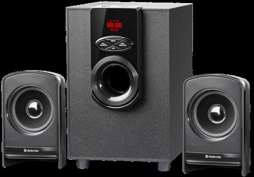 Акустическая 2.1 система Defender X261 26Вт, BT/FM/MP3/SD/USB/LED/RC
