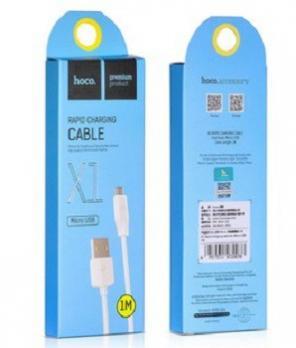 Кабель USB Micro HOCO X1 белый