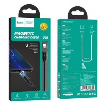 Магнитный кабель USB на Type-C, HOCO U76